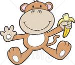 13573_cute_baby_monkey_eating_a_banana